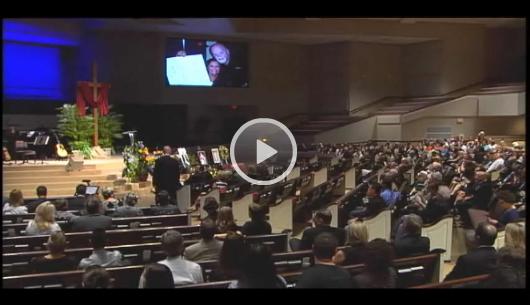 *Video:pastor david foster memorial service